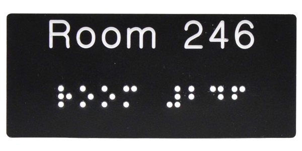 Braille Label