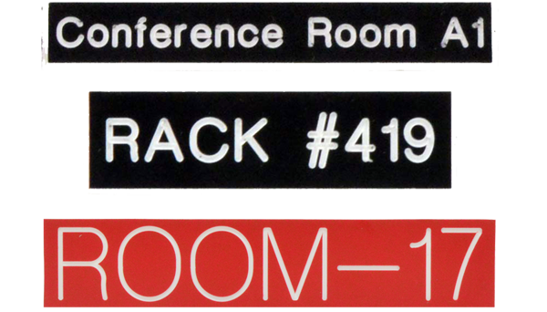 Conference Room Signage